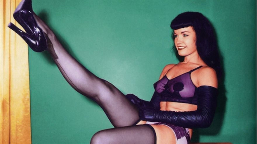 Bettie Page, la estrella de Something weird video
