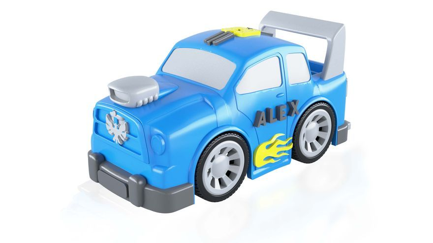 Con Imaginieer los niños pueden personalizar el aspecto de un coche de juguete