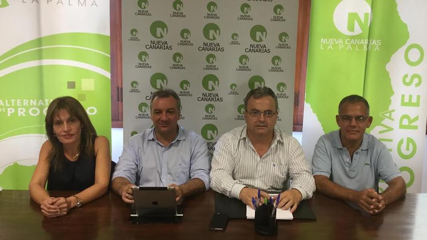 De izquierda a derecha: Esther González, Luis Campos, Miguel Ángel Pulido y José Manuel Domínguez.