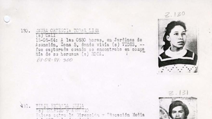 Página del 'Diario Militar' en el que aparece la entrada de Carlos Ernesto Cuevas Molina con el número 300, que indica que fue ejecutado mientras estaba cautivo. Fuente: Archivo Nacional de Seguridad
