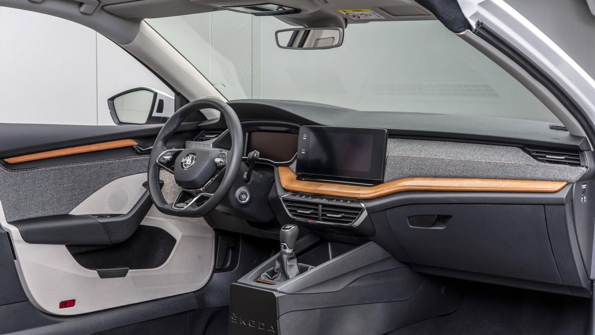 Skoda ha desarrollado una innovadora materia prima hecha de pulpa de remolacha para usarse en sus nuevos vehículos.