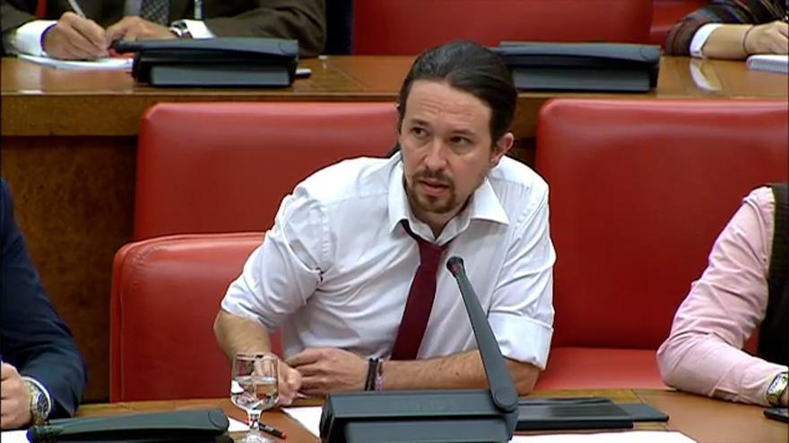Pablo Iglesias Comision de Defensa