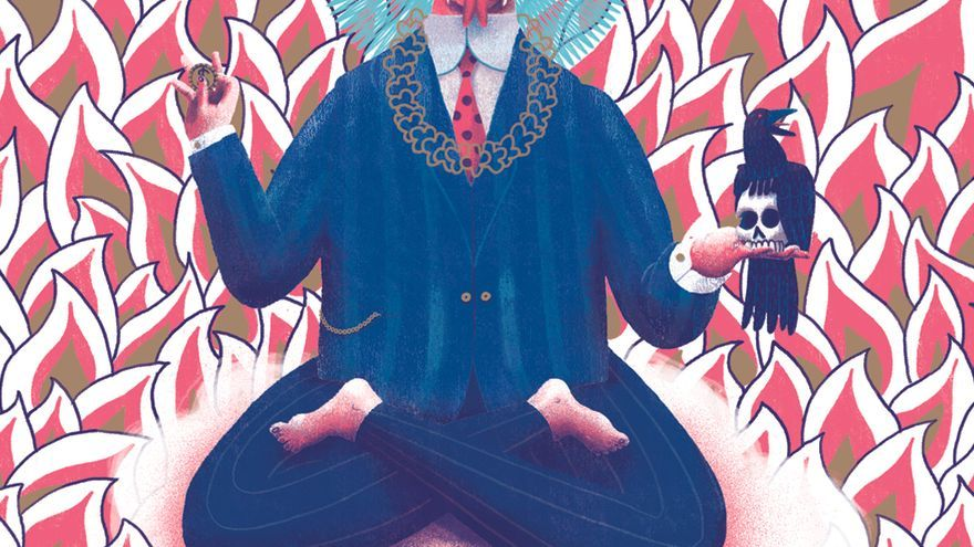 Ilustración de 'El Dios Dinero'