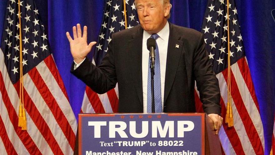 Organizaciones presentan una campaña nacional para promover el voto contra Trump