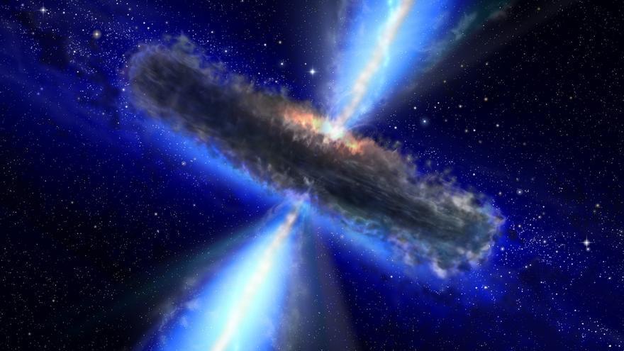 El IFCA publica una nueva interpretación sobre la población de agujeros negros supermasivos