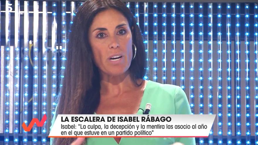 Isabel Rábago, en la Escalera de las emociones de 'Viva la vida'