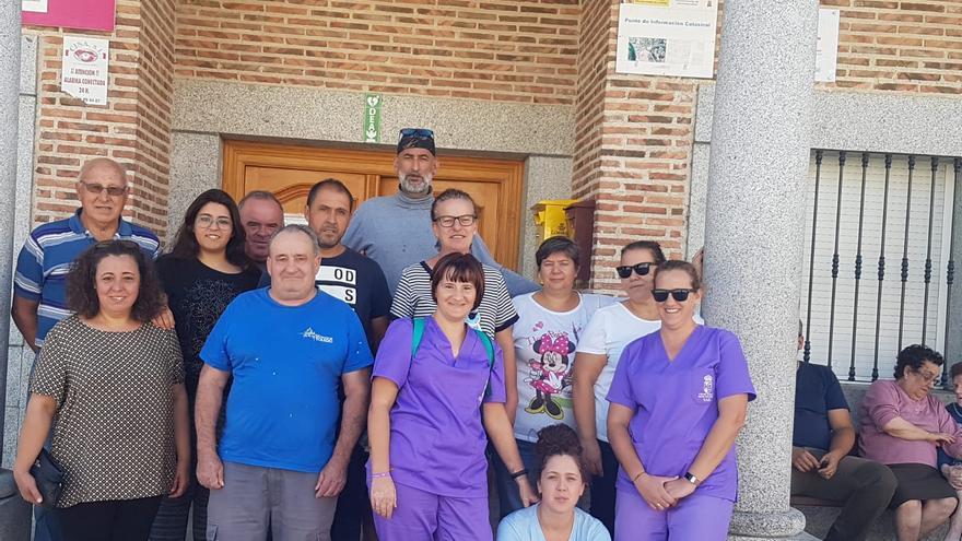 Concentración en Montesclaros (Toledo)