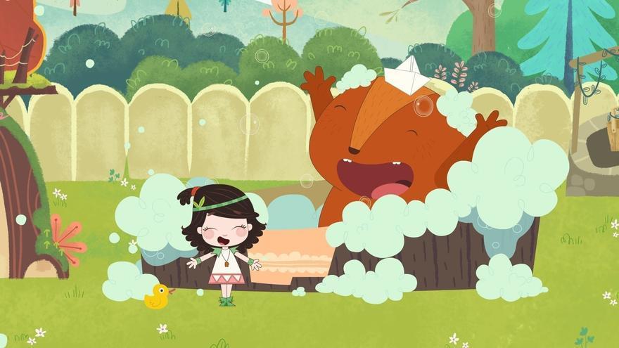 Fotograma de la serie de dibujos animados