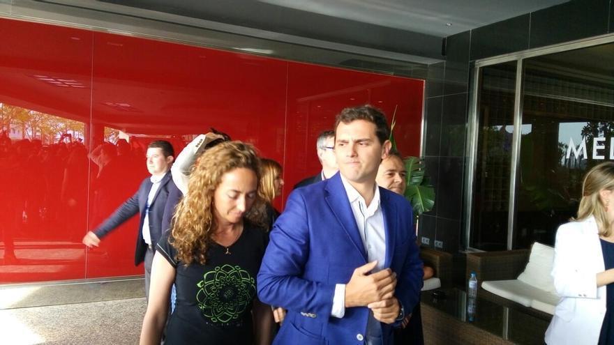 Rivera participa este miércoles en un mitin junto a Punset en Alicante