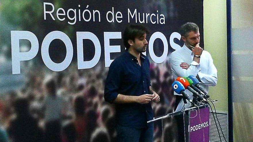 Javier Sánchez Serna y Óscar Urralburu, de Podemos