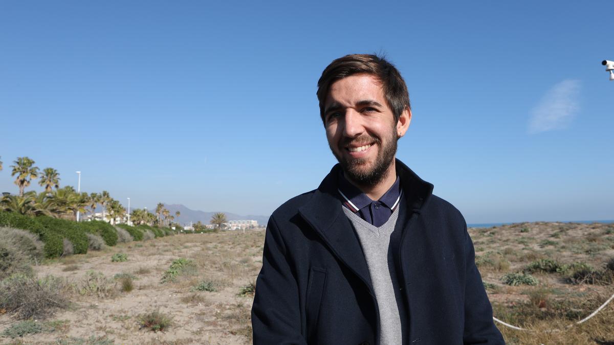 El concejal de Transición Ecológica, Fernando Navarro.