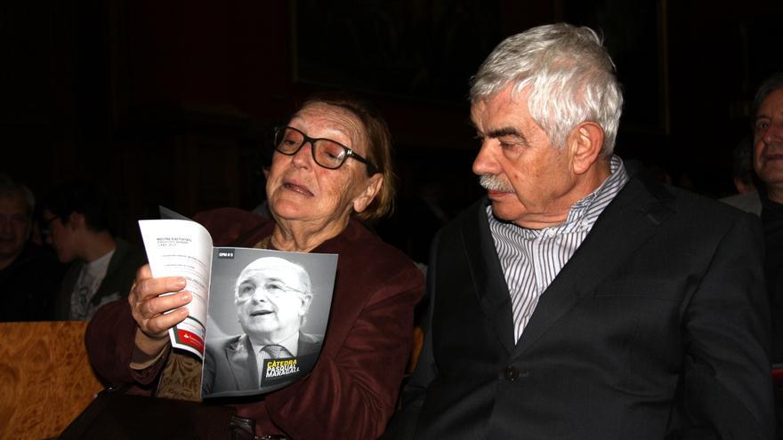 Garrigosa y Maragall, en una imagen de abril de 2016.