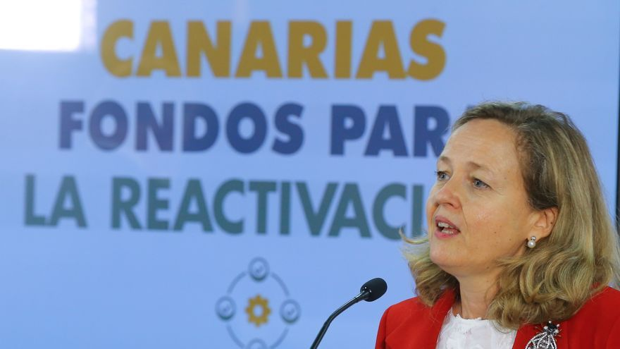 Calviño: la recuperación está en marcha pero es lenta en Canarias por el turismo