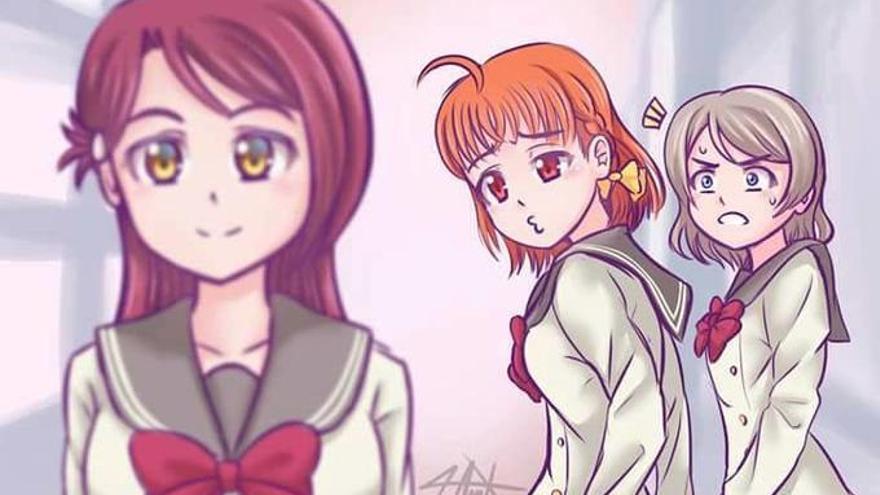 La versión 'anime' del meme va más allá y plasma distintas orientaciones