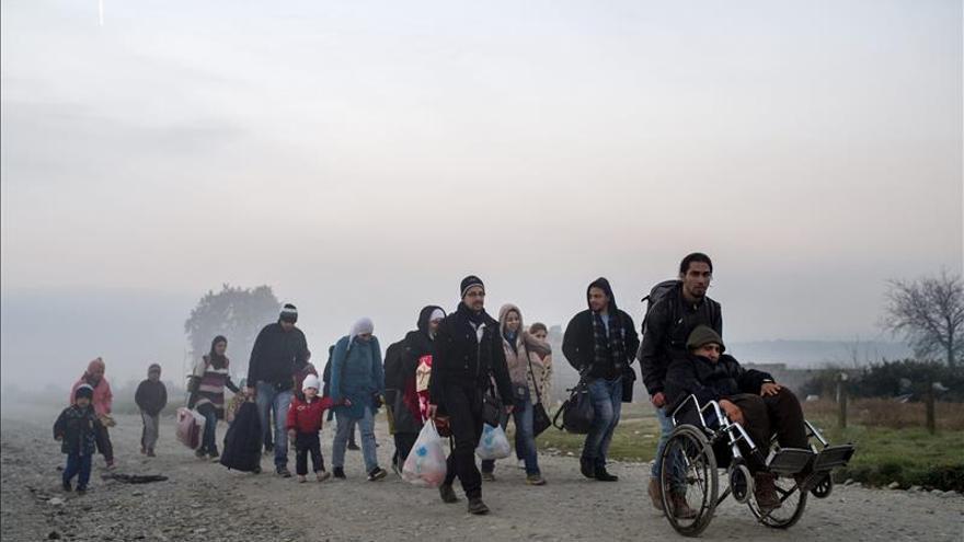 La hipotermia y el frío amenazan a los refugiados en su ruta por los Balcanes