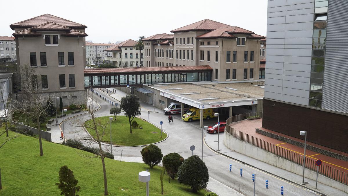 Vista general del Hospital Universitario Marqués de Valdecilla.- Archivo