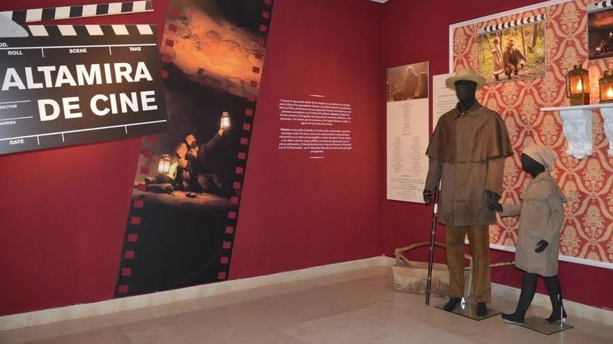 Altamira acoge una muestra temporal 'de cine', dedicada a la película sobre el descubrimiento
