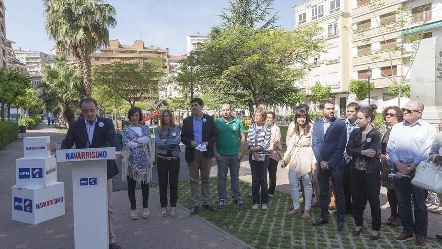 """Esparza (UPN) muestra su """"compromiso"""" con la sanidad en la Ribera y apuesta por mantener el Conservarorio de Música"""