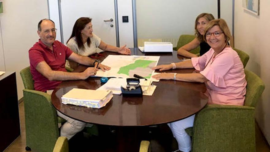Reunión en la Conselleria de Medio Ambiente