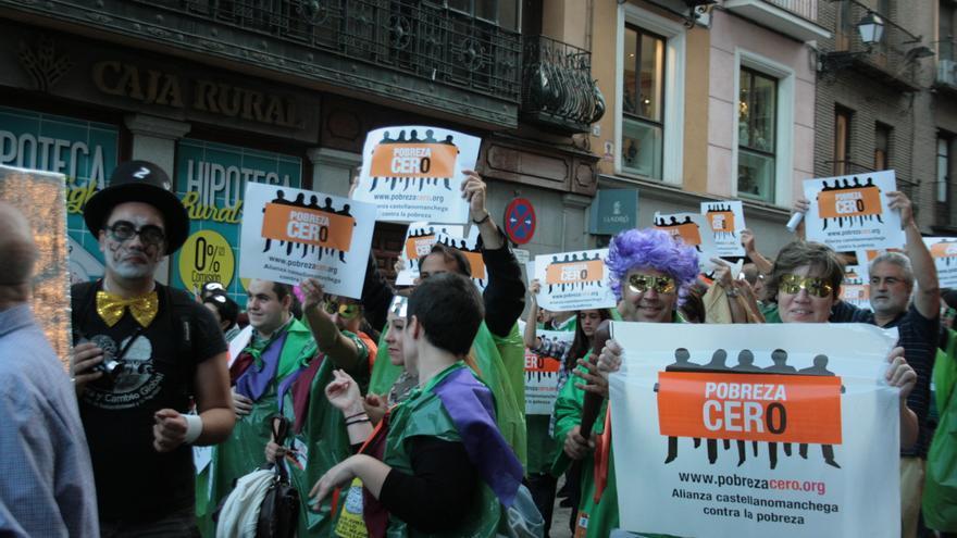 Acto contra la pobreza en Toledo