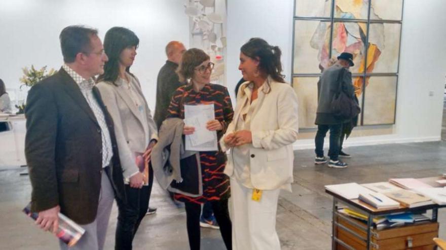 Extremadura acude a la Feria Internacional de Arte Contemporáneo ARCO Madrid 2016 / Junta