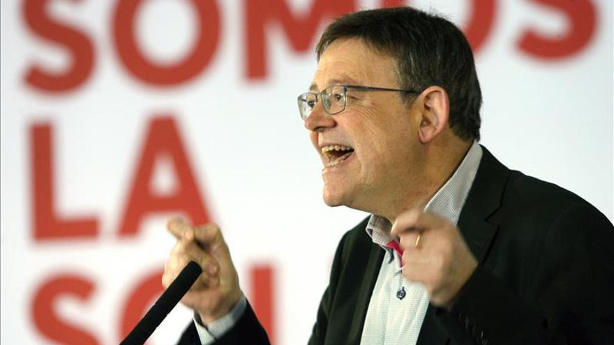 Ximo Puig llama a independizarse de Rajoy y coser España desde singularidades
