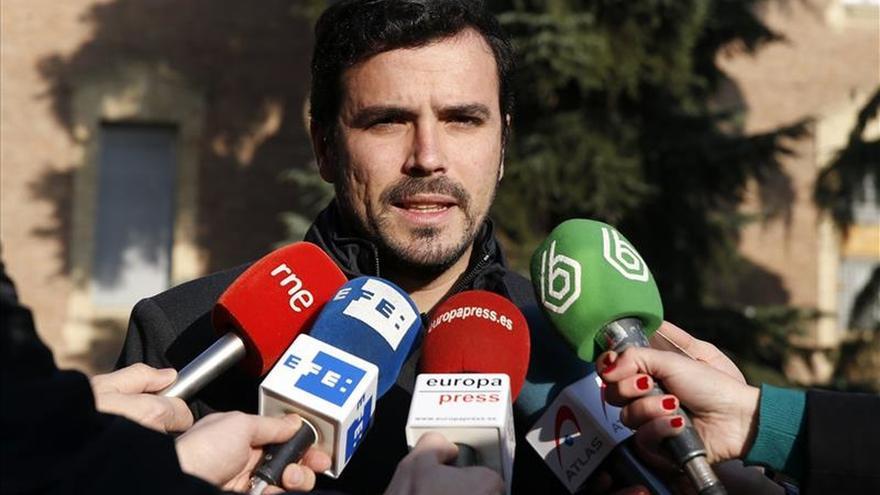 """Garzón (IU): """"El ciudadano Felipe de Borbón es un Rey que no pisa la calle"""""""