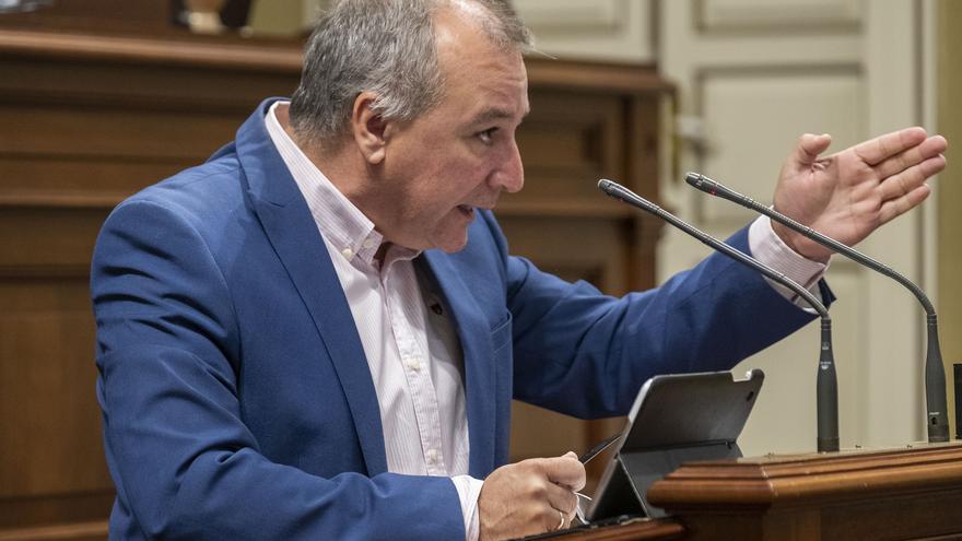 El diputado de NC, Luis Campos.