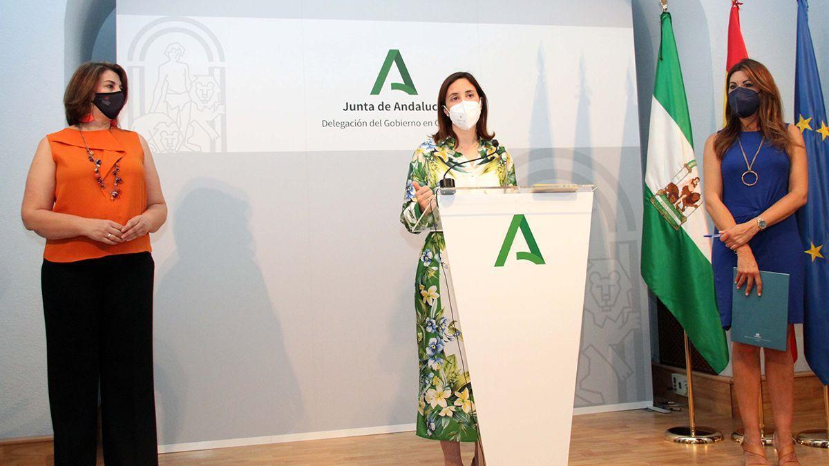 Presentación de las ayudas al alquiler de la Junta en Córdoba.