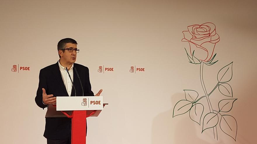 """Patxi López quiere """"reconstruir"""" el PSOE desde la izquierda exigente y autónoma y """"unir"""" sin ir contra nadie"""""""