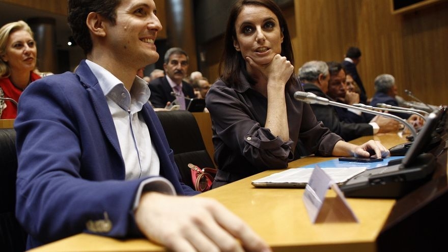"""Levy (PP) acusa a Forcadell de intentar convertir Cataluña """"en una república bananera"""""""