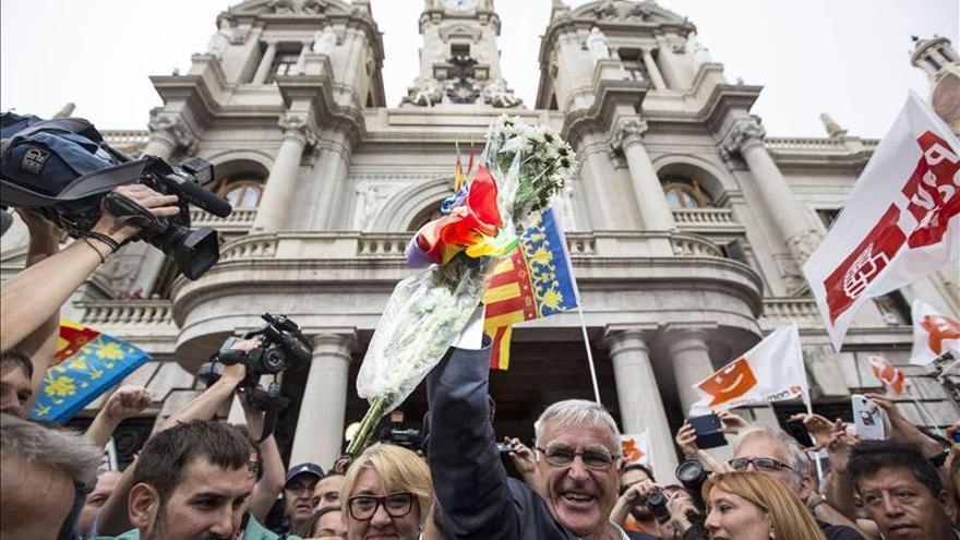 Joan Ribó, de Compromís, nuevo alcalde de Valencia