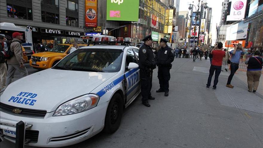 Nueva York desplegará unos 6.000 policías en Times Square en la Nochevieja