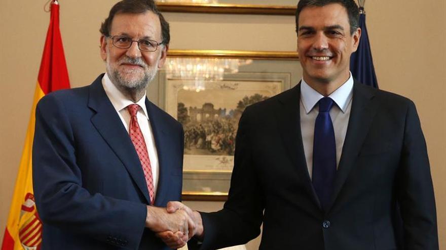 Rajoy y Sánchez se reunirán el próximo jueves en la Moncloa