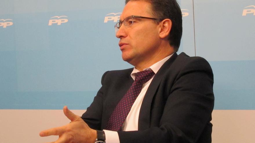 """Castellano dice que la presencia de Rajoy en la Convención Política del PPCV es una """"muestra del apoyo"""" a Fabra"""