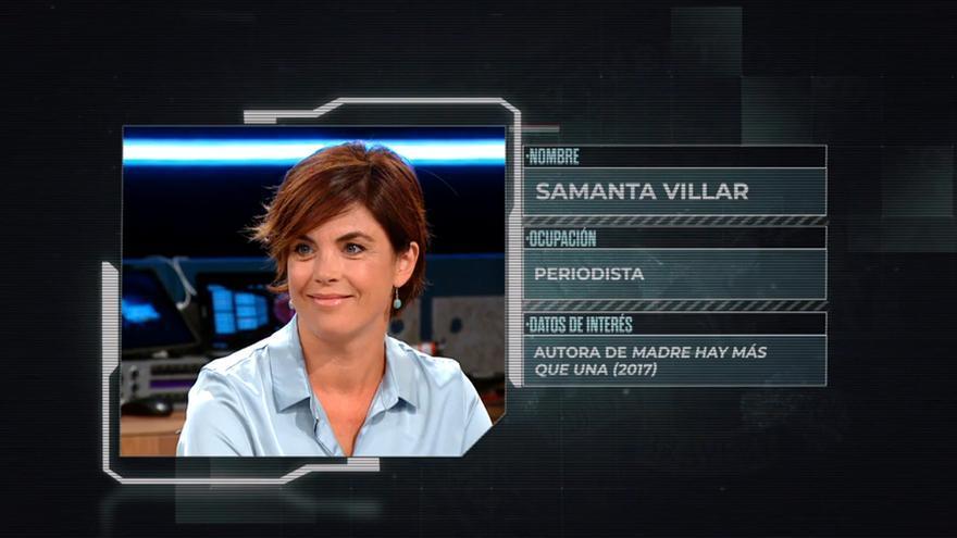 Samanta Villar en 'La mesa del Coronel'