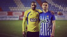 Thaylor Lubanzadio juega en el Real Unión, cedido por el Eibar.