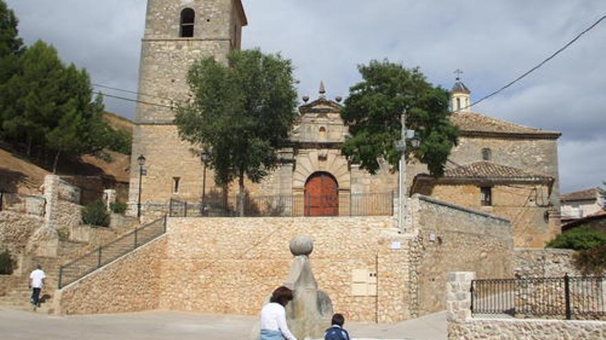 Iglesia de Durón (Guadalajara). / Foto: Ayuntamiento.