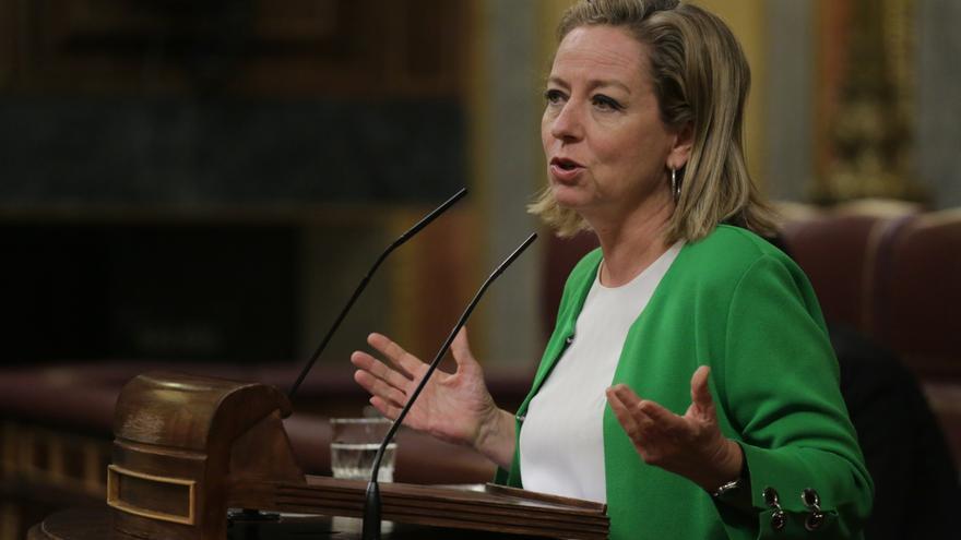 La portavoz de Coalición Canaria (CC) en el Congreso, Ana Oramas