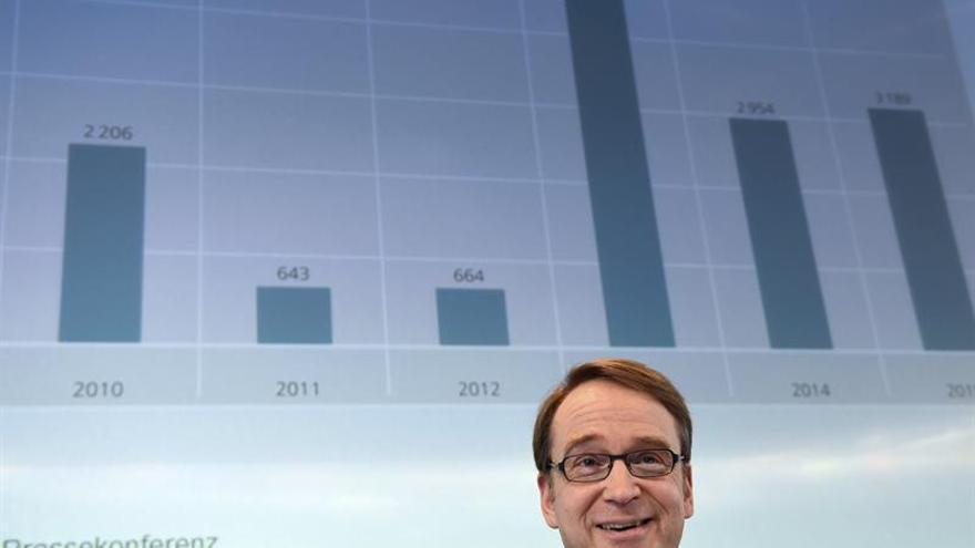Bundesbank: la Eurozona ahorra un 9 % del PIB por los bajos tipos de interés