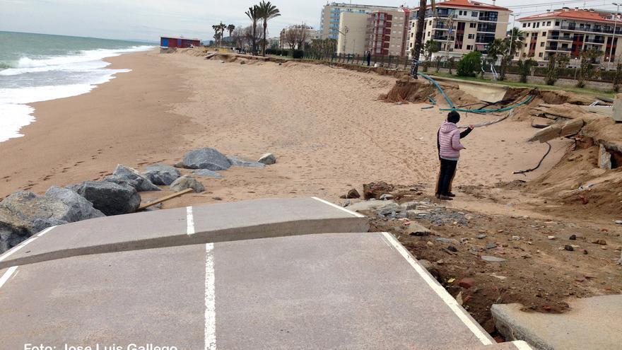 Playa de Pineda de Mar, en la provincia de Barcelona.