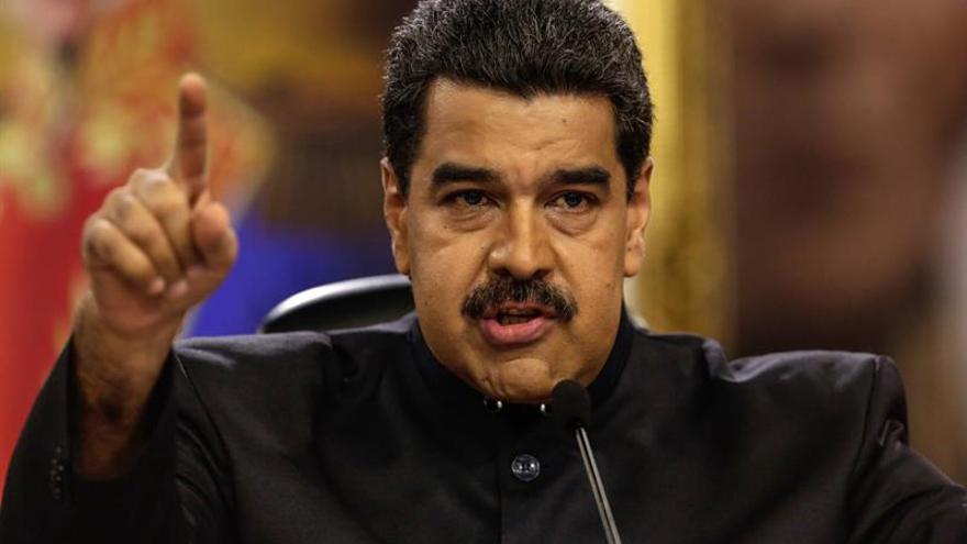 """Maduro ataca al """"emperador Donald Trump"""" y a """"su vasallo"""" Juan Manuel Santos"""