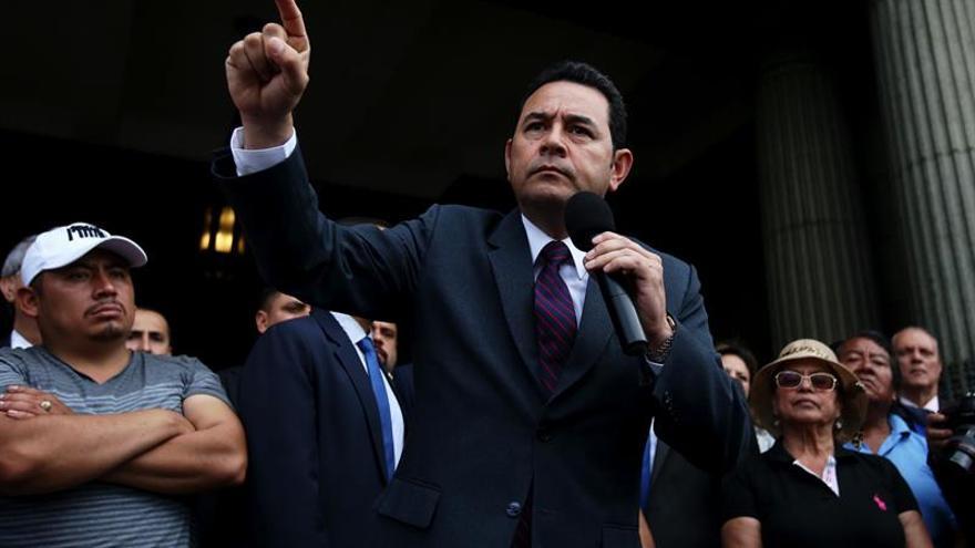 Piden retirar el fuero a Jimmy Morales por delitos electorales