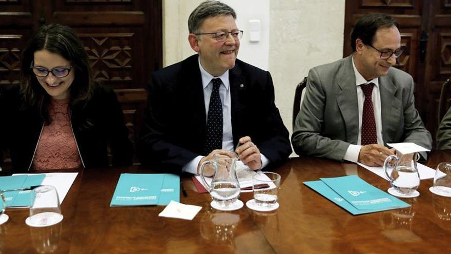Todos los partidos valencianos reclamarán en Madrid una mejor financiación