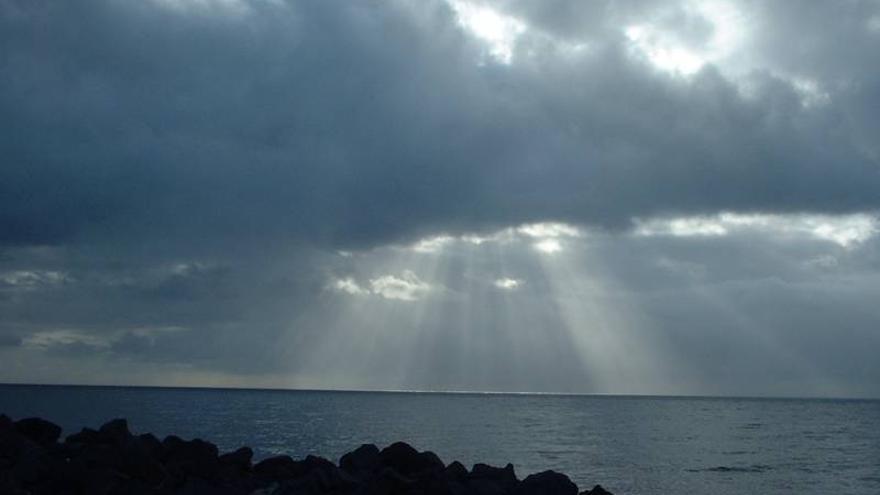 Probables lluvias en general débiles  este jueves en el norte y este  de La Palma