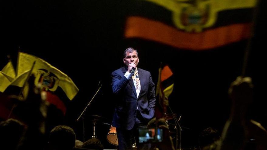 El presidente Correa pide apoyo a inmigrantes para la Revolución Ciudadana