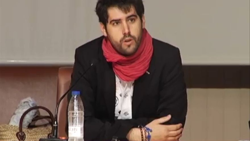 David Becerra, director de la 'Revista de crítica literaria marxista'