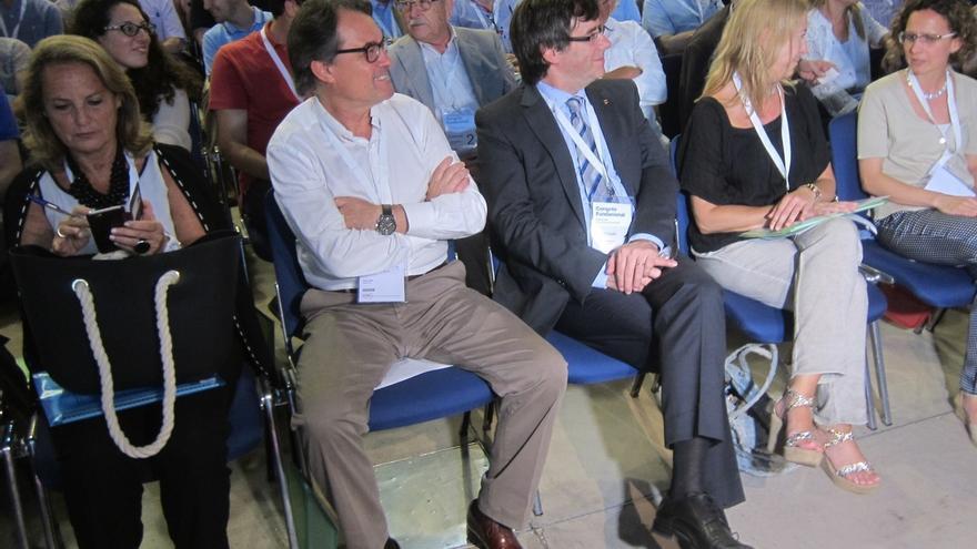 Mas y Puigdemont preferían llamar Partit Nacional Català a la formación heredera de CDC