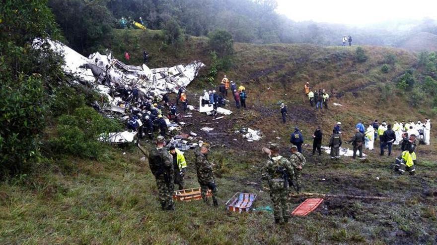 Un niño guió el primer rescate en el accidente aéreo del Chapecoense