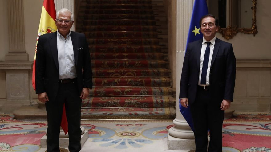 Albares y Borrell coinciden en la importancia del Mediterráneo e Iberoamérica